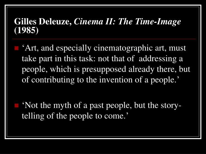 Gilles Deleuze,