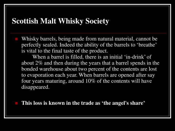 Scottish Malt Whisky Society