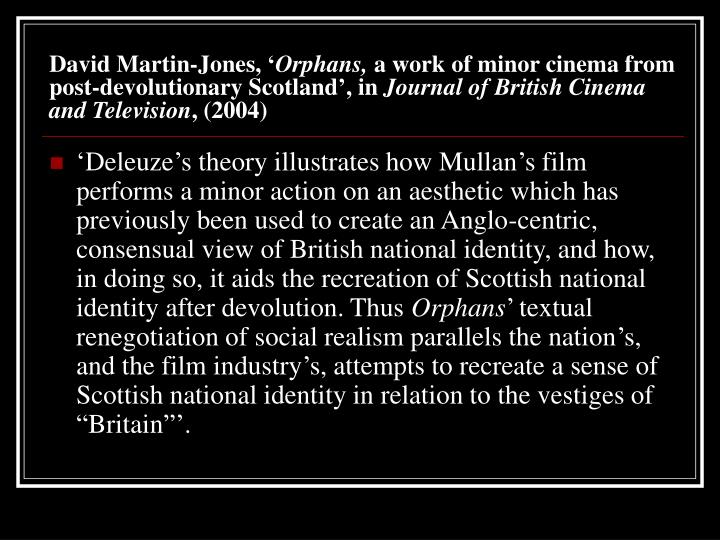 David Martin-Jones, '