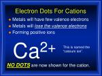 electron dots for cations2