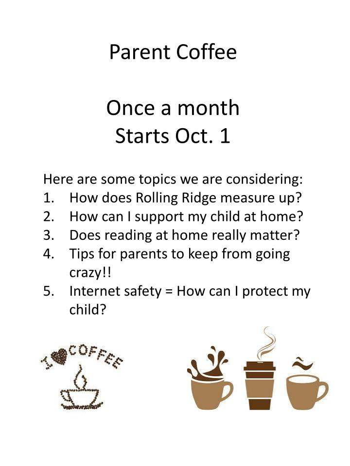 Parent Coffee