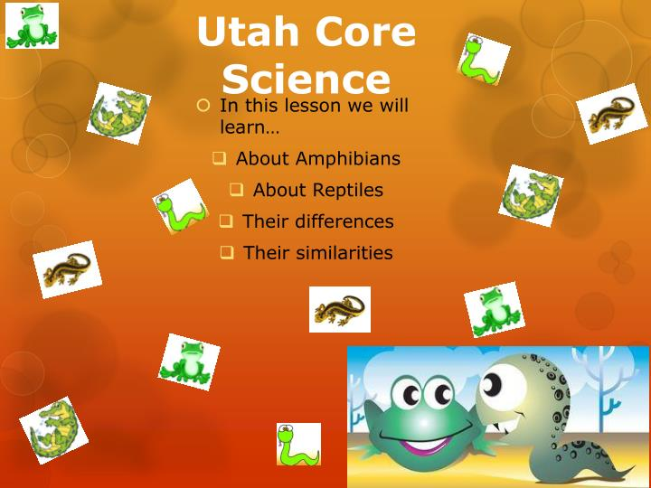 Utah core science