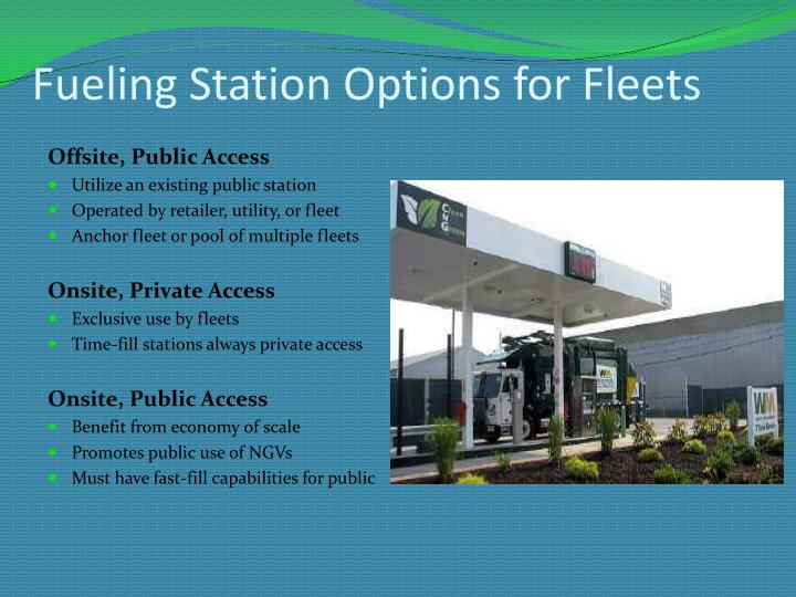 Fueling Station Options for Fleets