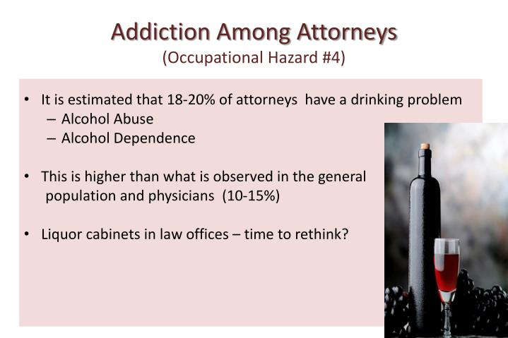 Addiction Among Attorneys