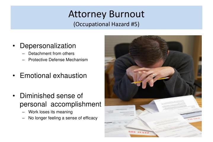Attorney Burnout