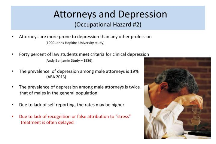 Attorneys and Depression