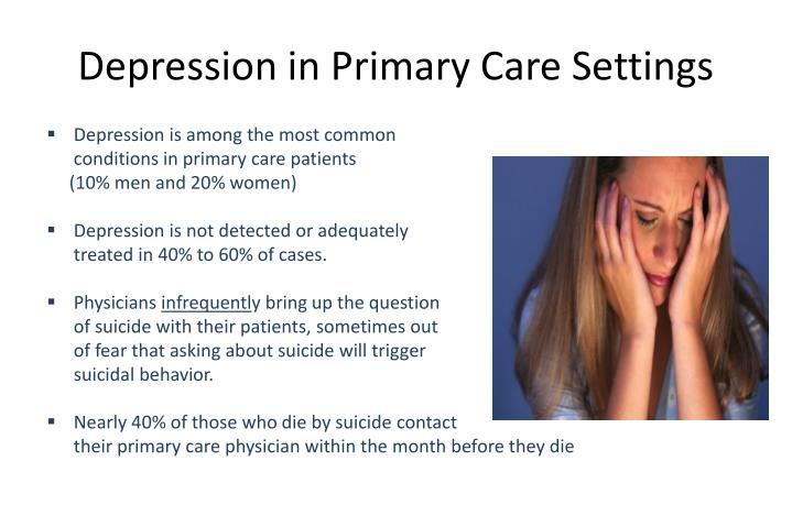 Depression in Primary Care Settings