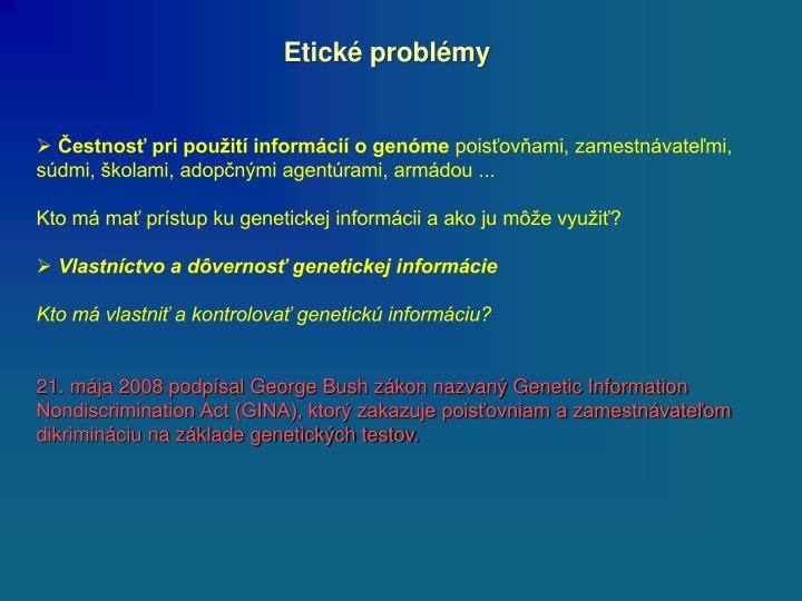 Etické problémy