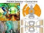 phenix detector central arm