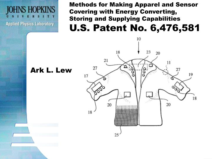 Methods for Making Apparel and Sensor