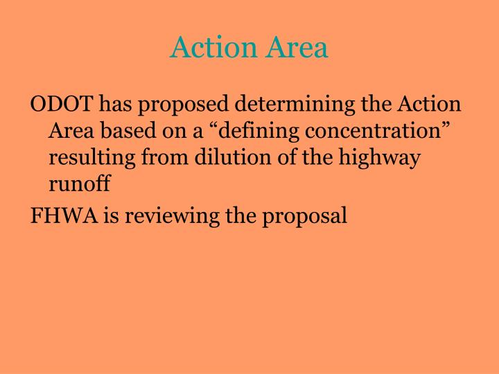 Action Area