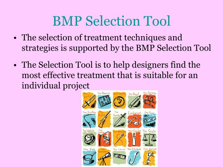 BMP Selection Tool