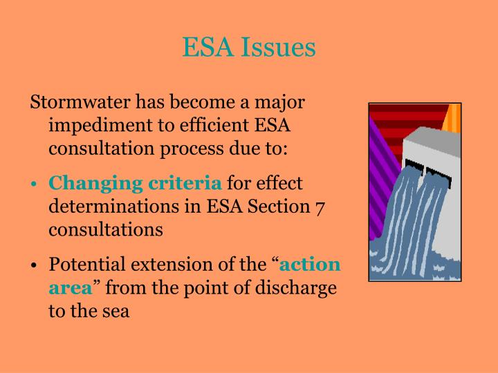 ESA Issues