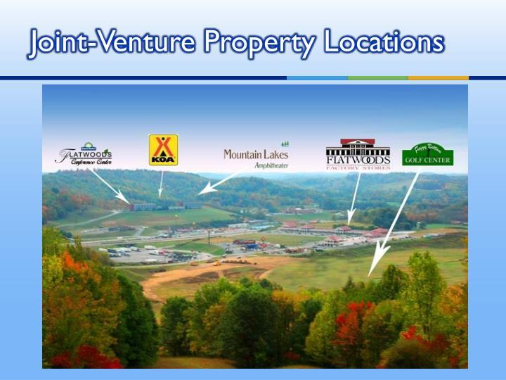 Joint-Venture Property Locations
