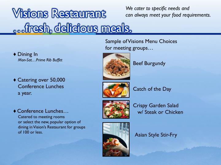 Visions Restaurant
