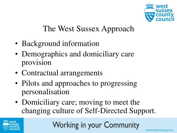 The West Sussex Approach