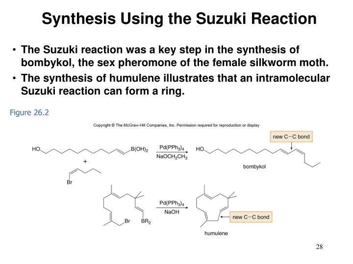 Synthesis Using the Suzuki Reaction