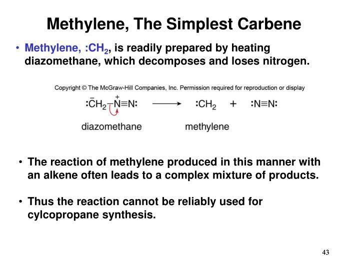 Methylene, The Simplest Carbene