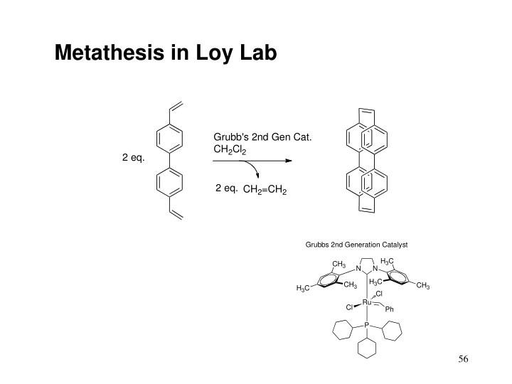 Metathesis in Loy Lab