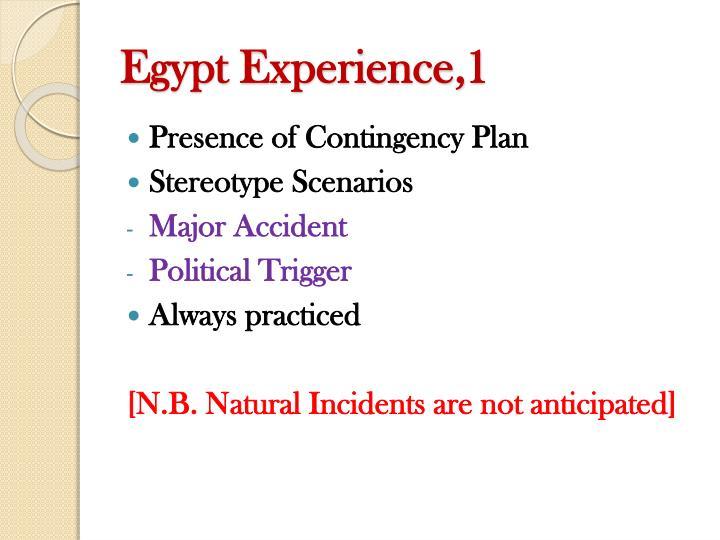 Egypt Experience,1