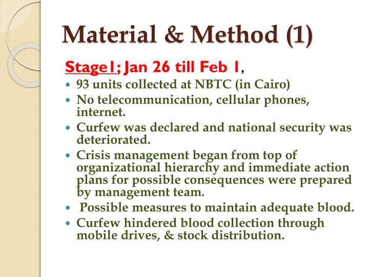 Material & Method (1)