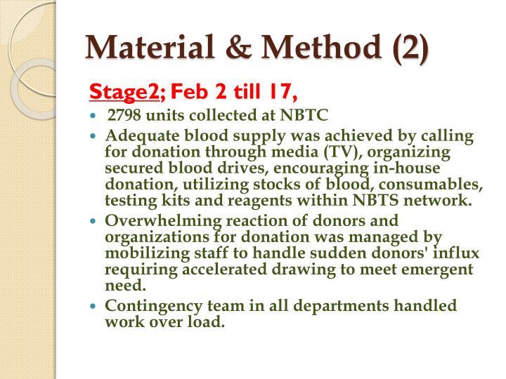Material & Method (2)