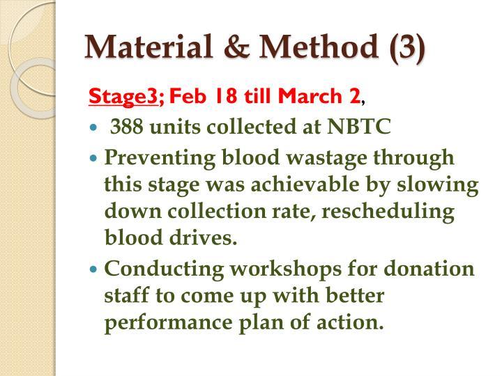 Material & Method (3)