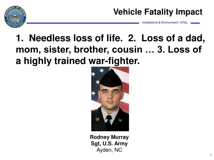 Vehicle Fatality Impact