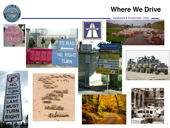 Where We Drive