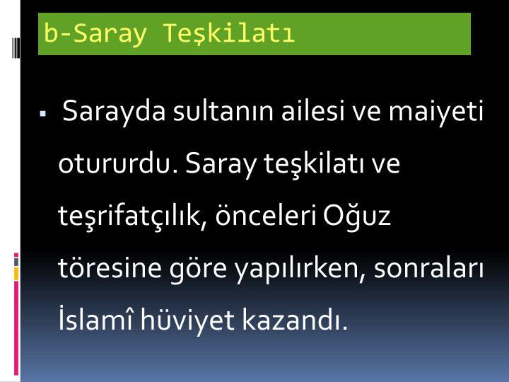 b-Saray