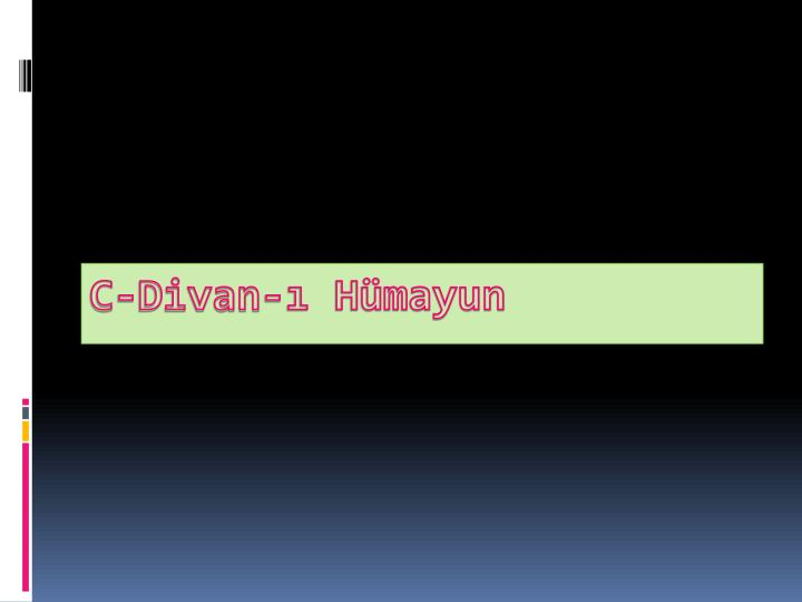 C-Divan- Hmayun