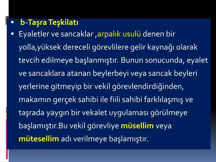 b-Tara Tekilat