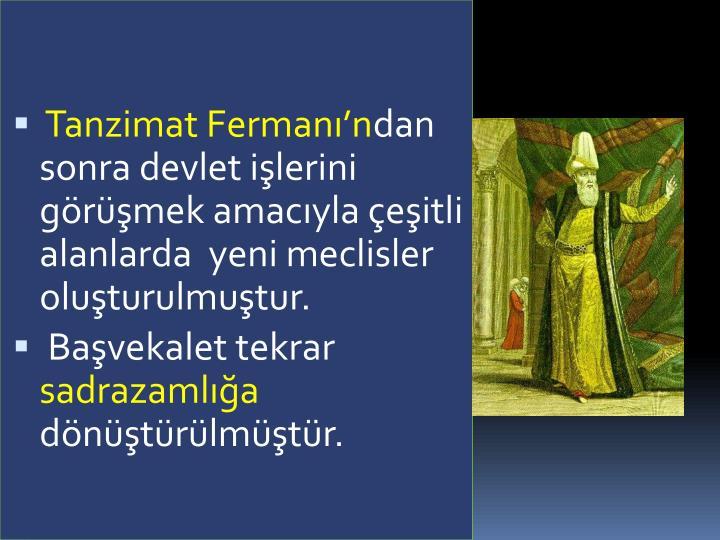 Tanzimat Fermann