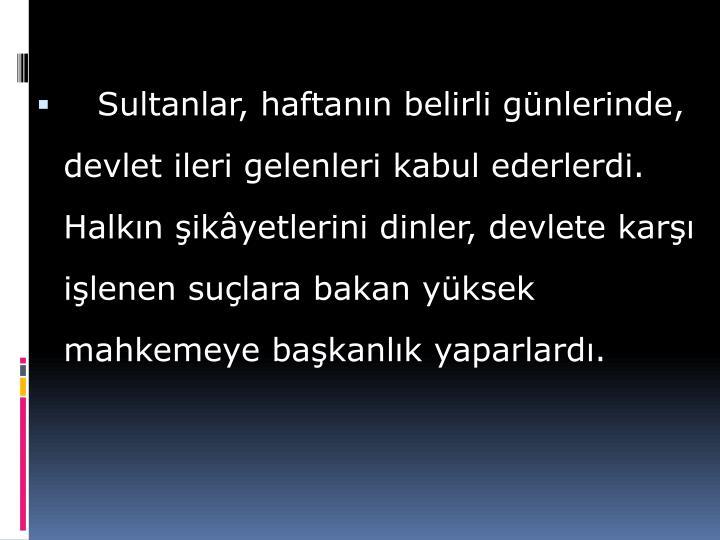 Sultanlar