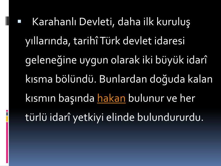 Karahanl