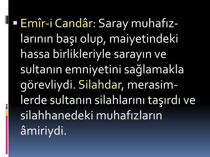 Emr-i Candr:
