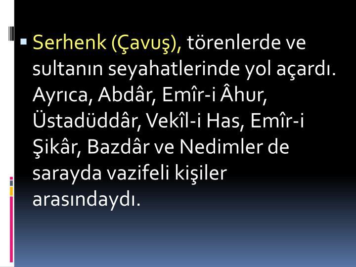 Serhenk (avu),