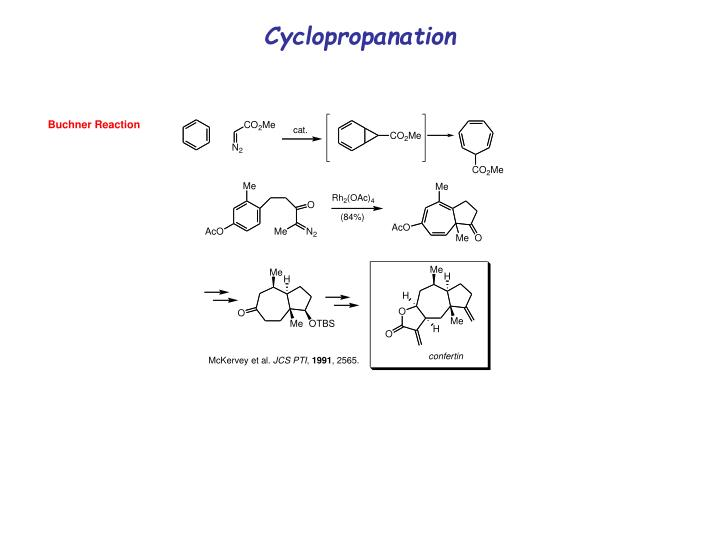Cyclopropanation