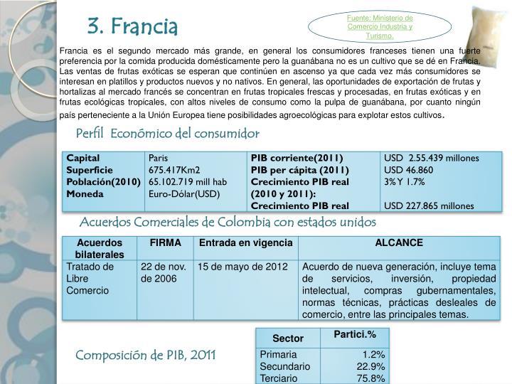 3. Francia