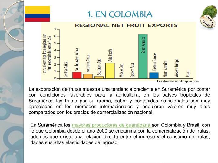 1. EN COLOMBIA