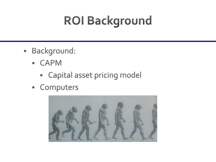 ROI Background