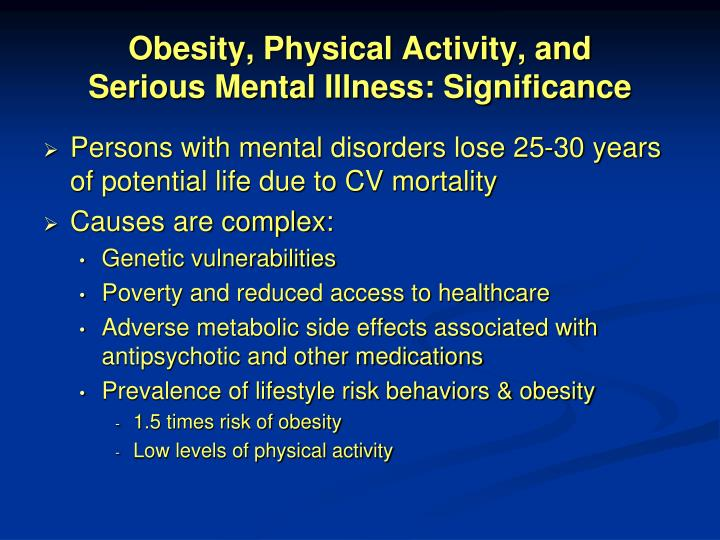 Obesity, Physical Activity, and