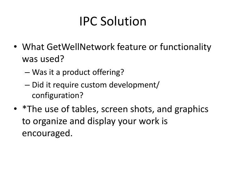 IPC Solution