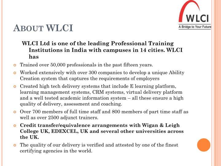 About WLCI