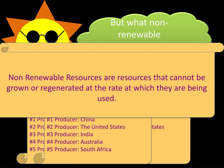 But what non-renewable resources are in plastic?
