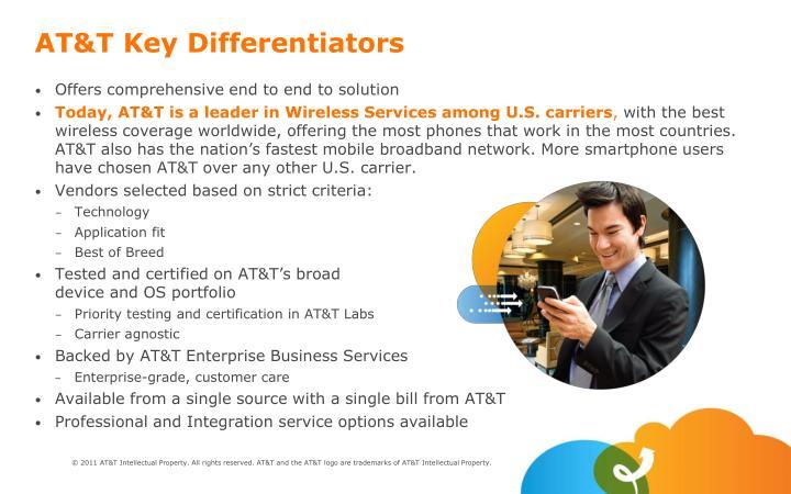 AT&T Key Differentiators