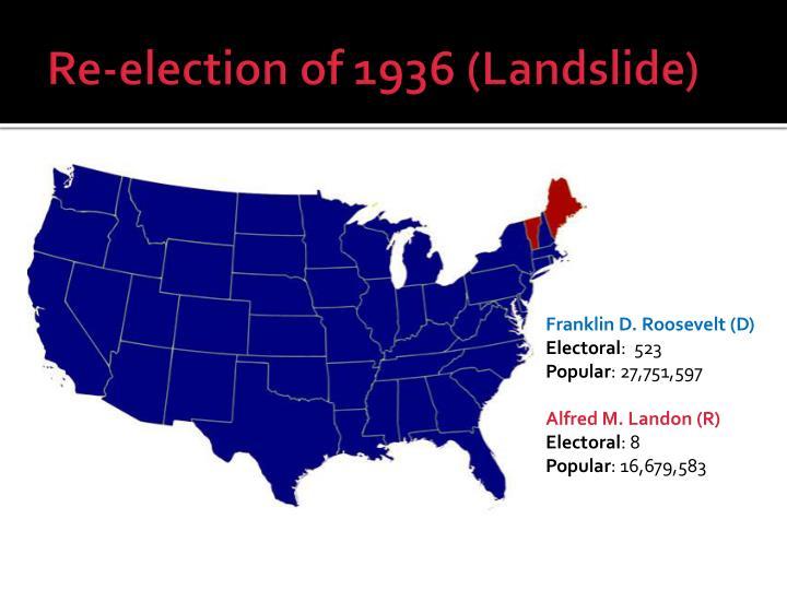 Re-election of 1936 (Landslide)