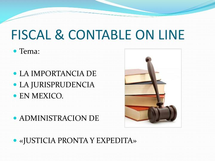 Fiscal contable on line1