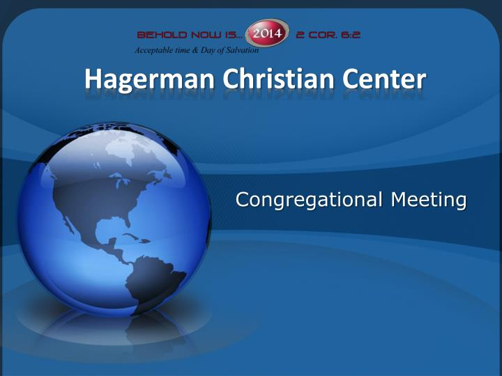 Hagerman christian center