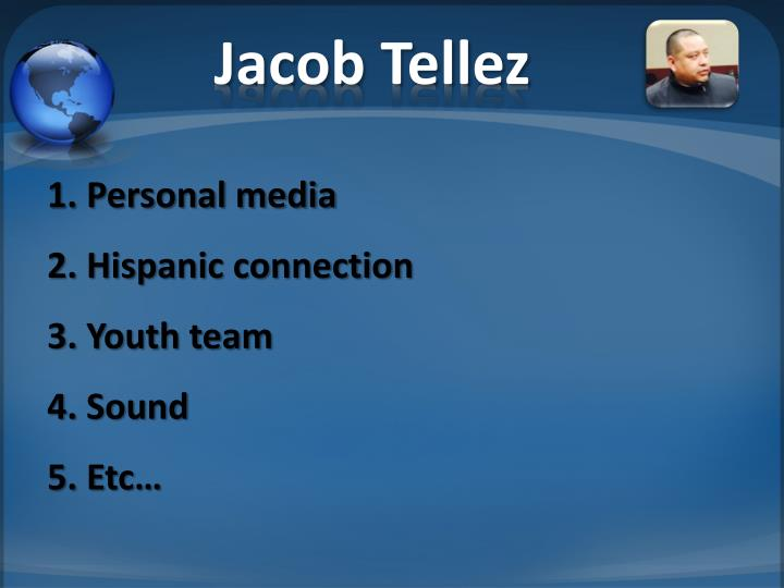 Jacob Tellez